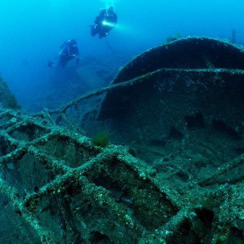 Batık savaş gemisi Majestic dalış turizmine açılıyor