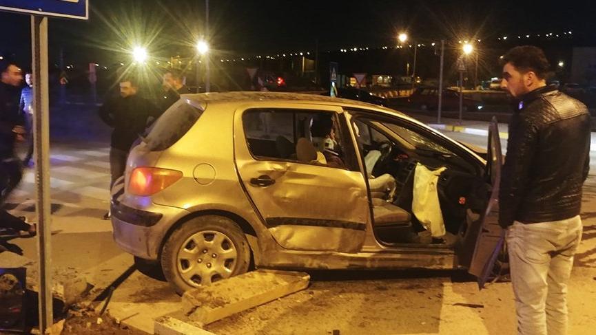 Çorum'da trafik kazası! 4 yaralı