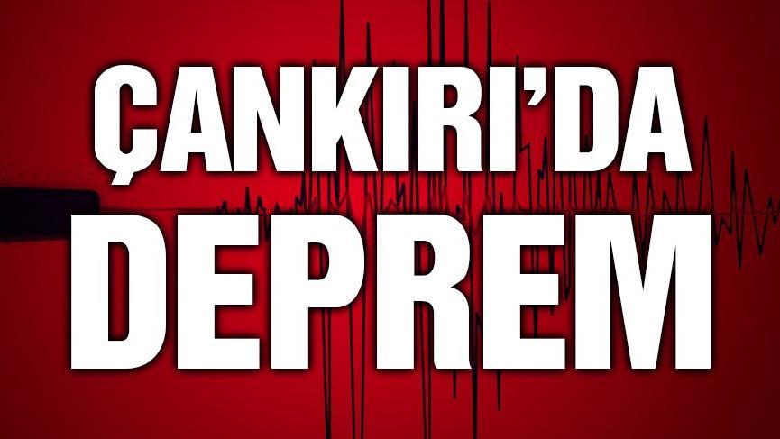 Son dakika: Çankırı'da deprem oldu, Ankara'da hissedildi! (Son depremler)
