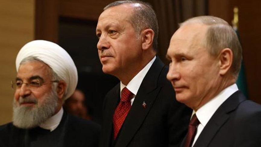 Erdoğan, Soçi'de Putin ve Ruhani ile görüşecek