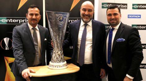 UEFA Kupası Türkiye'de!