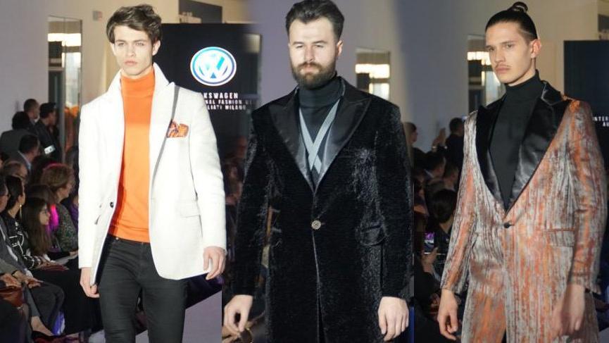 Ferruh Karakaşlı Milano Moda Haftası'nda yeni koleksiyonunu tanıttı