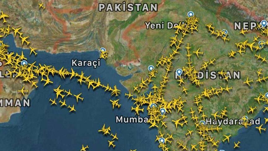 Pakistan'da gökyüzü sessizliğe büründü!