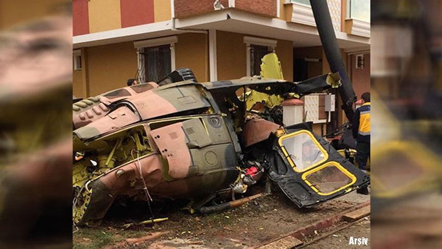 21 yılda 6 helikopter düştü! En son 5 asker şehit olmuştu