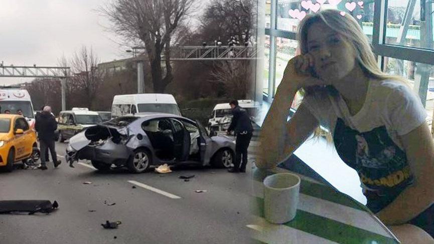 Bakırköy sahil yolunda 'yarış' kazası: 1 ölü, 1 yaralı