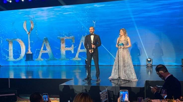 Engin Altan Düzyatan'a Dubai'de ödül verildi