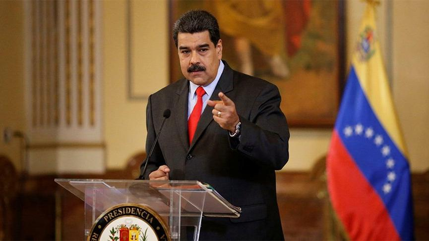 Maduro'dan flaş açıklama: Bu sözleri ABD halkına yöneltiyorum…