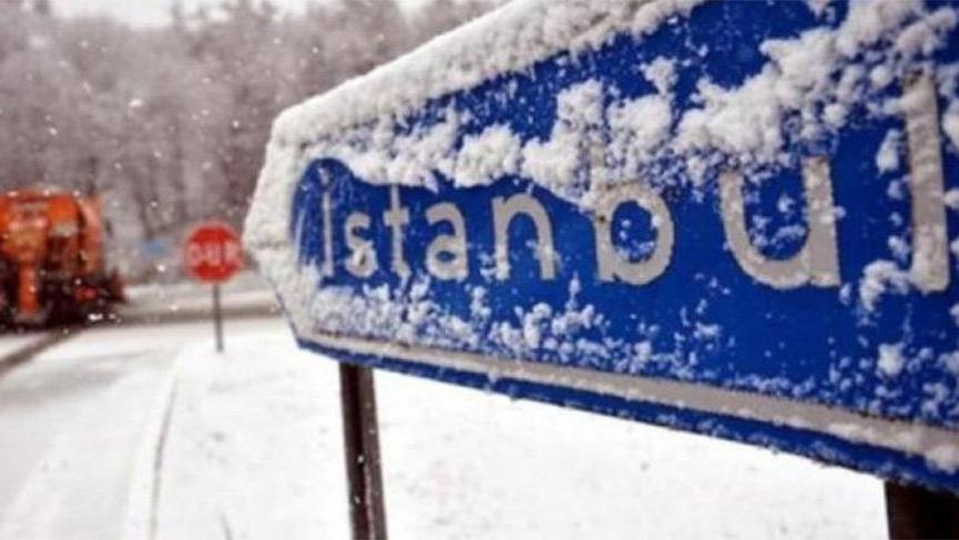 Meteoroloji: İstanbul'da yer yer 3-8 cm kar örtüsü bekleniyor