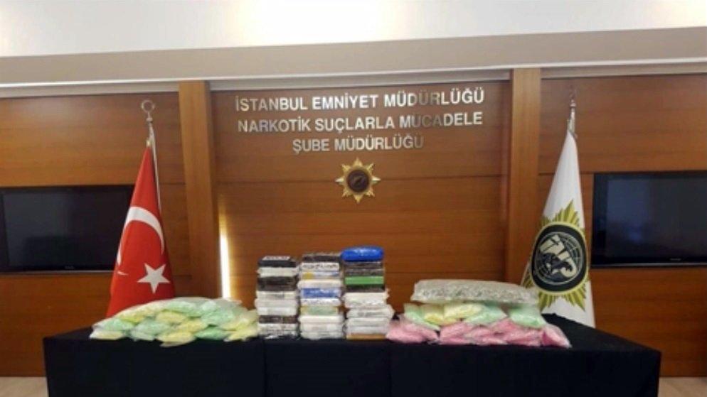 İstanbul polisinden nefes kesen uyuşturucu operasyonları