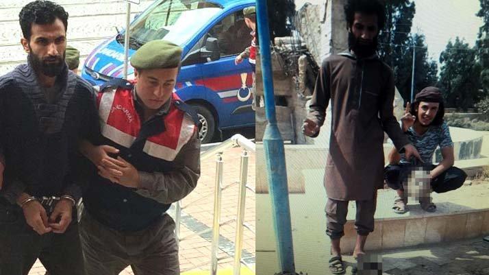 IŞİD celladına 7 yıl 6 ay hapis cezası