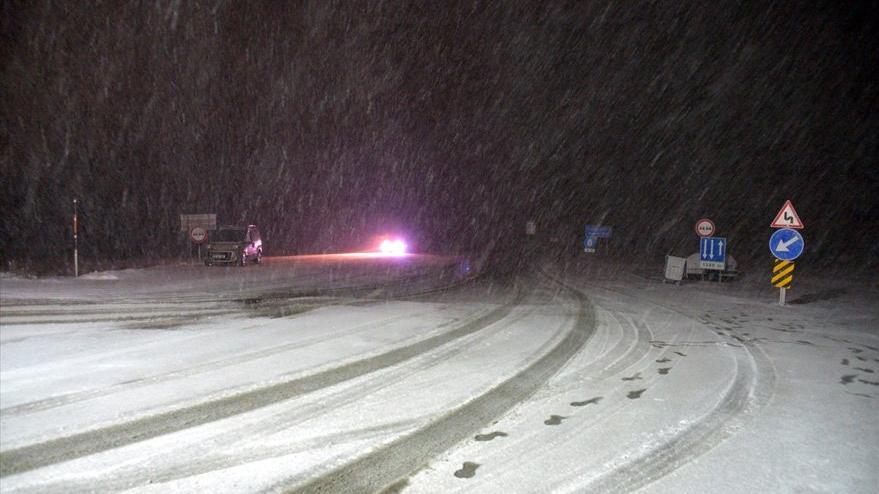 Meteoroloji günlerdir uyarıyordu! Kar yağışı başladı