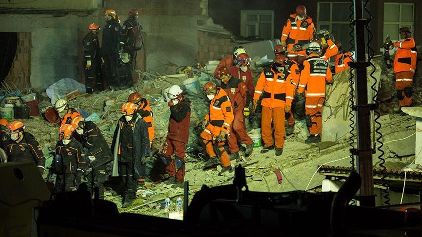 İstanbul Valiliği, Kartal'da çöken binada ölen ve yaralananların isimlerini açıkladı