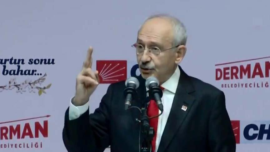 Kılıçdaroğlu: Simit satana da 754 lira milyonla oynayana da