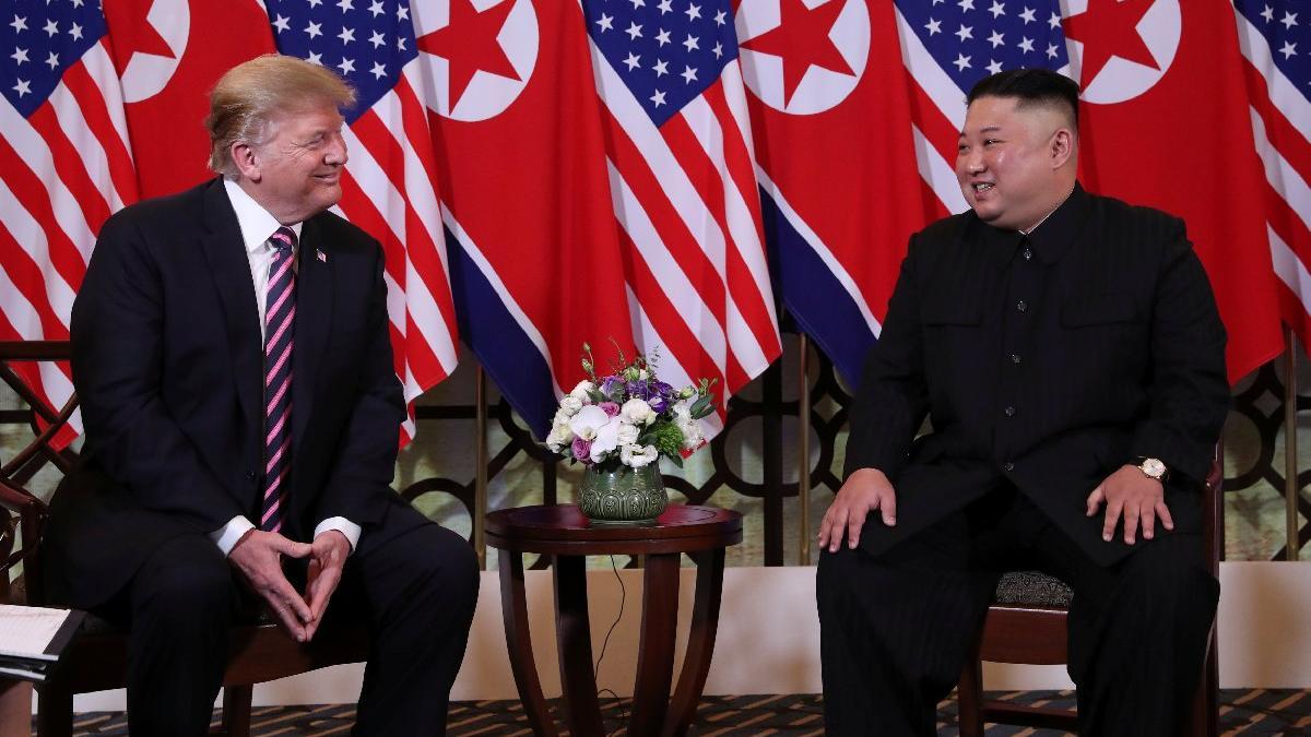 Trump ve Kim, 8 ay sonra tekrar buluştu