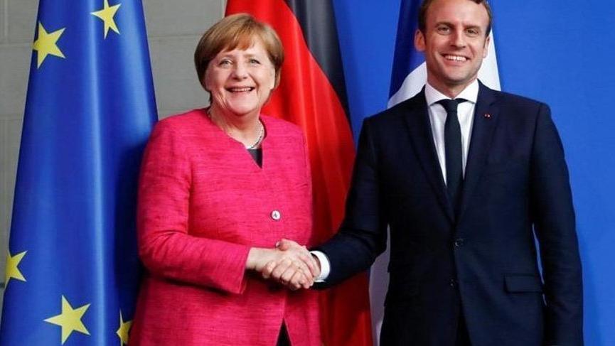 Macron ve Merkel'den İngiltere'ye net Brexit mesajı