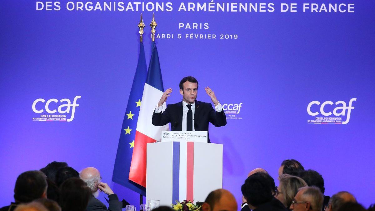 Macron'dan skandal karar: Sözde Ermeni soykırımını anma günü ilan ettiler