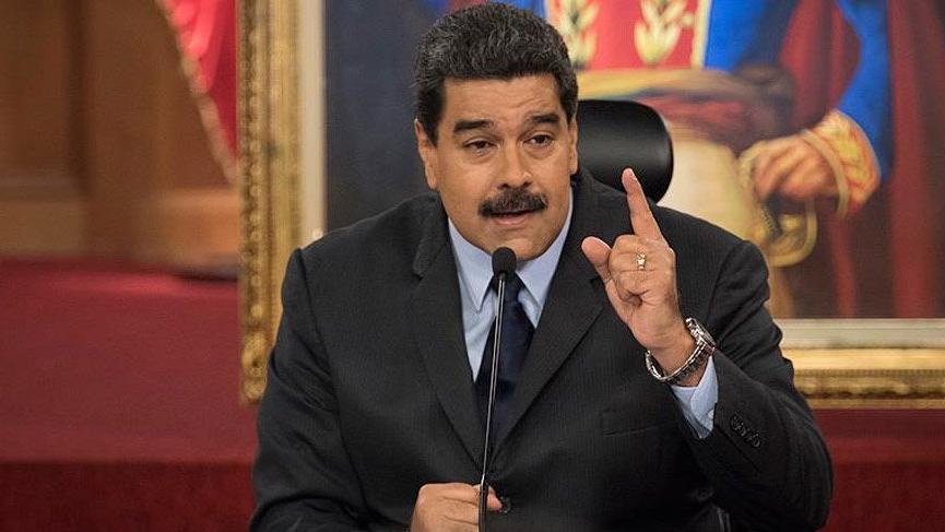 Maduro Yankee'lere meydan okudu!