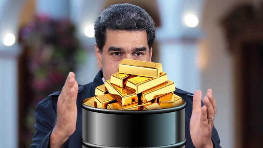 Venezuela altın rezervlerini Araplara gönderiyor