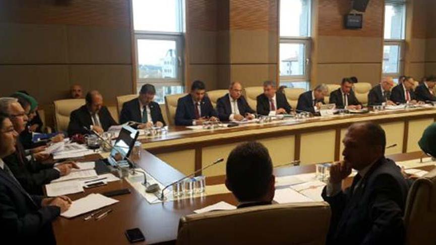 13 maddelik yasa teklifi komisyonda kabul edildi