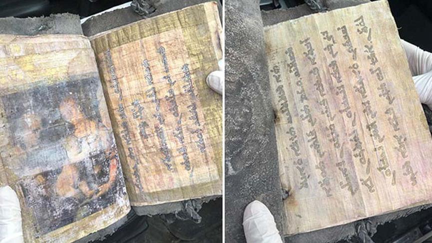 1700 yıllık kitabı satmaya çalıştılar!