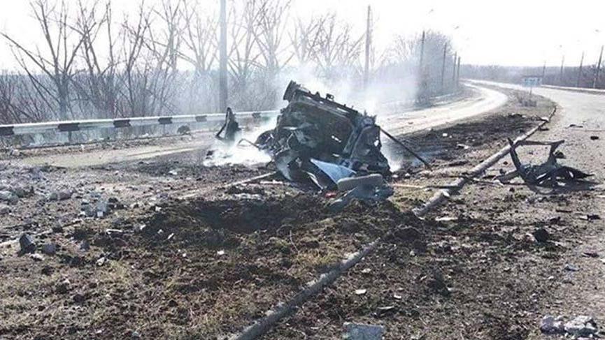 Ukrayna'da mayın patladı: 2 ölü, 3 yaralı