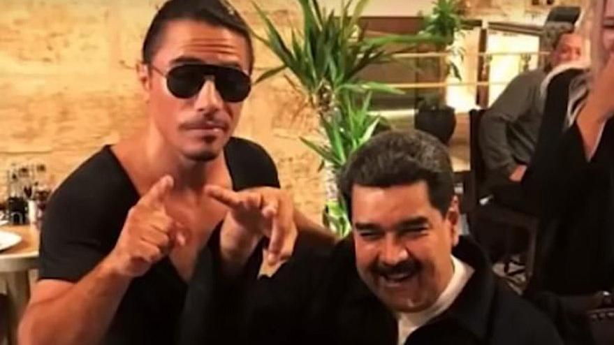 Venezuela'nın zengin çocukları sosyal medyanın gündeminde