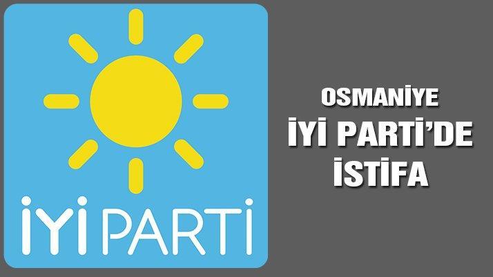 Osmaniye'de İYİ Parti yöneticisi 8 kişi istifa etti