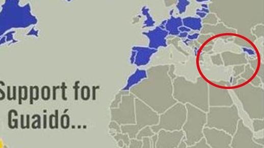 Skandal Türkiye haritasıyla ilgili ilk açıklama… | Son dakika haberleri
