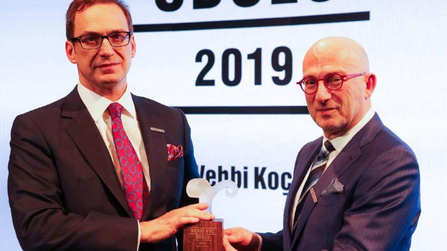 Vehbi Koç ödülü Prof. Dr. Mehmet Toner'e verildi