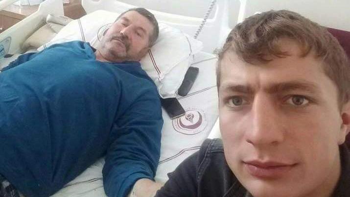 Oğlunun kaza geçirdiğini duyan baba kalp krizi geçirdi