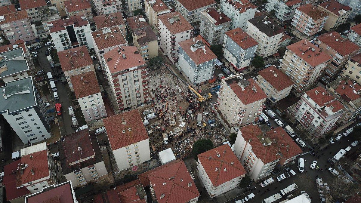 Kartal Belediyesi: Çöken bina hakkında 'imar barışı' başvurusu var