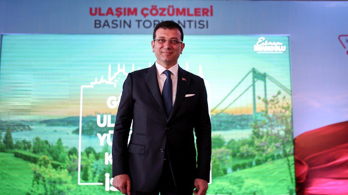 İmamoğlu'ndan flaş proje: TEM'e Megabüs