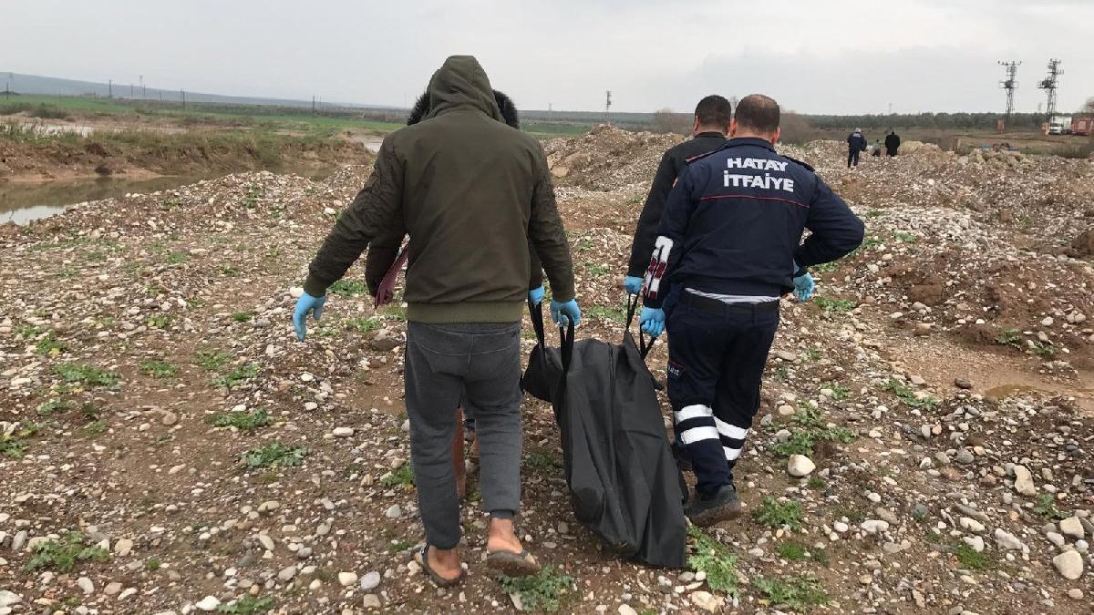 Reyhanlı'daki Afrin Çayı'nda 3 kadın cesedi bulundu