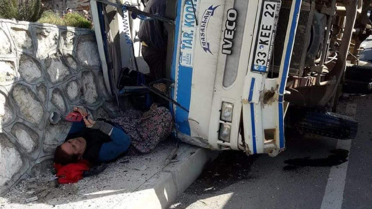 Mersin'de feci kaza! Ölü ve yaralılar var