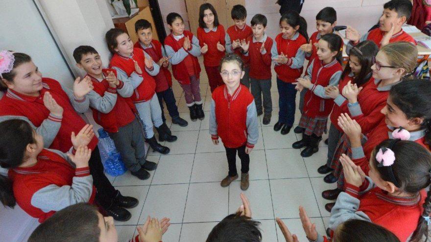 9 yaşındaki Hümeyra'dan iyilik hareketi