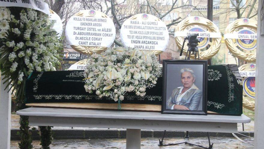 Ünlü iş kadını Nazire Dedeman son yolculuğuna uğurlandı
