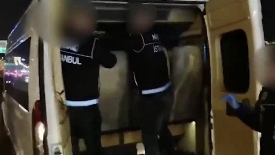 İstanbul'da okul servisinde iki ton uyuşturucu ele geçirildi
