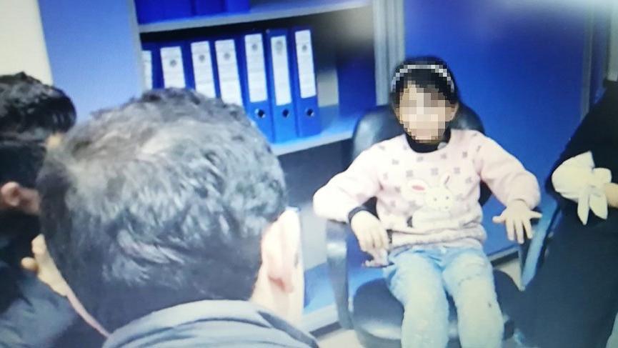 Üvey kızına işkence eden Suriyeli baba tutuklandı