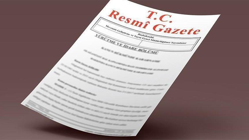 Son dakika… Atama ve görevden alma kararları Resmi Gazete'de