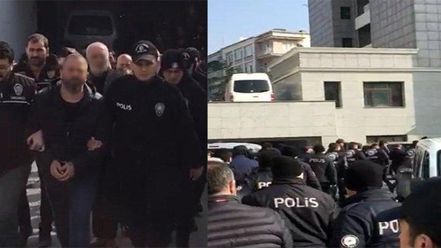 'Şahinler' suç örgütünden 22 kişi tutuklandı!