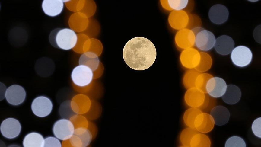 Yurt genelinde 'Süper Ay' görüntüleri