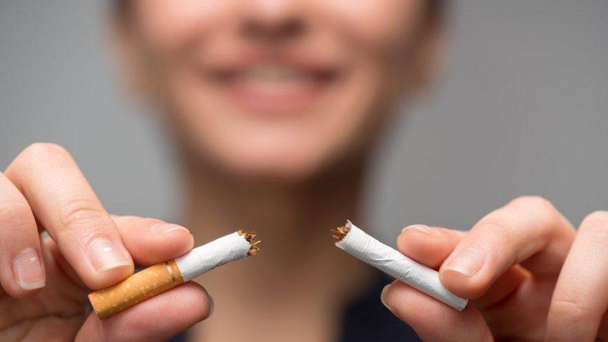 'Sigara içenlerin yarısı bırakmayı denedi'