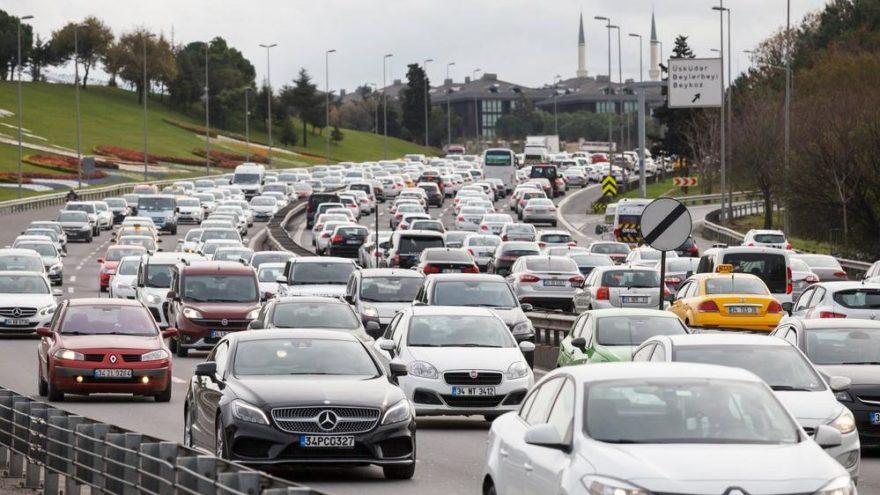 Türkiye'de en çok otomobil Ankara'da…
