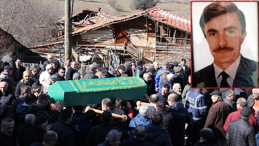 Ukrayna'da öldürülen TIR şoförü Bolu'da toprağa verildi