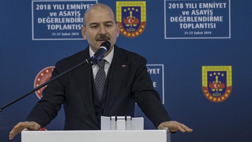 Bakan Soylu:Jandarmaya 27 bin 180 personel alımı planlanmaktadır