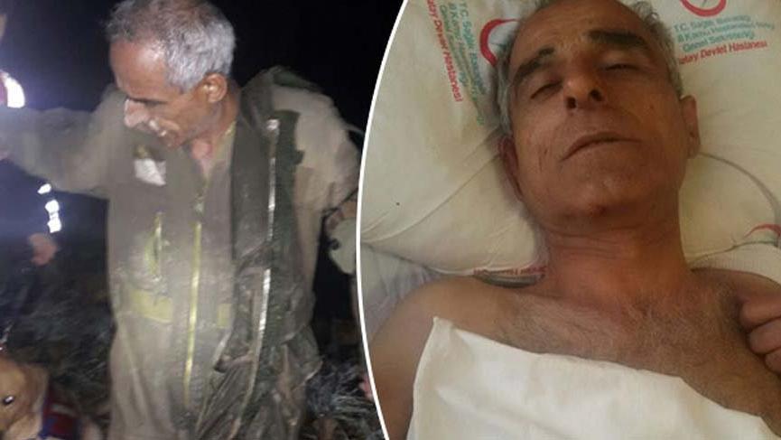 Hatay'da düşen Suriye savaş uçağının pilotuna beraat!