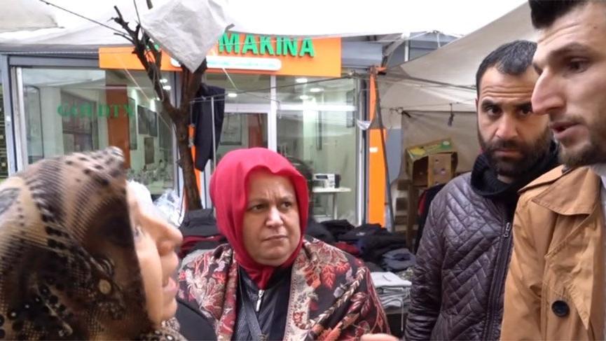 Semt pazarında 'devlet düşmanı' tartışması