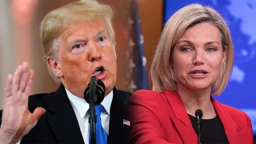 Donald Trump'ın aday gösterdiği Heather Nauert'ten flaş karar! Çekildi