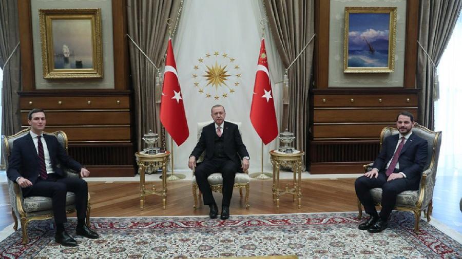 Trump'ın damadı Ankara'da