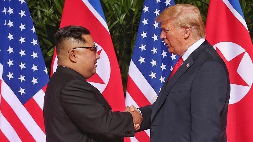 Trump ve Kim Jong-un'dan ortak bildiri